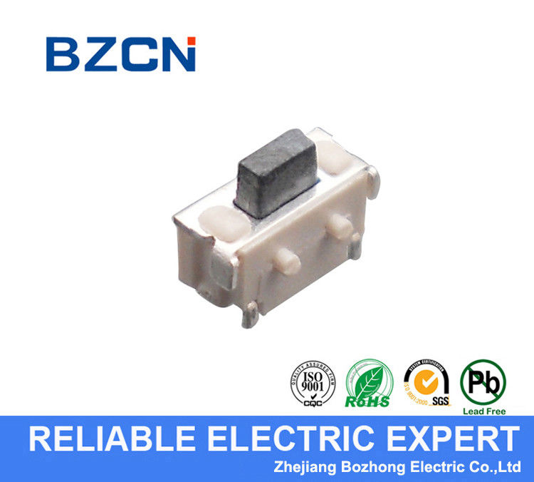 Micro Right Angle Tactile Switch , PCB Mount Push Button Switch 2.5X7 Mm